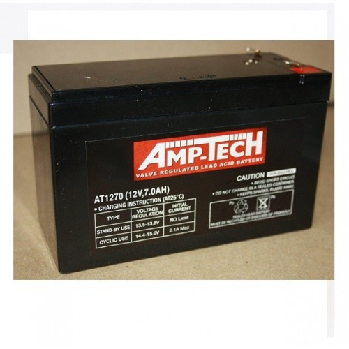 12V 7 Amp Hour Sealed Lead Acid Battery (SLA)