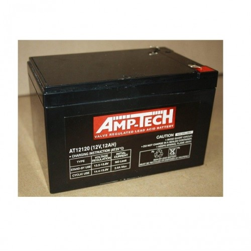 12V 12 Amp Hour Sealed Lead Acid Battery (SLA)