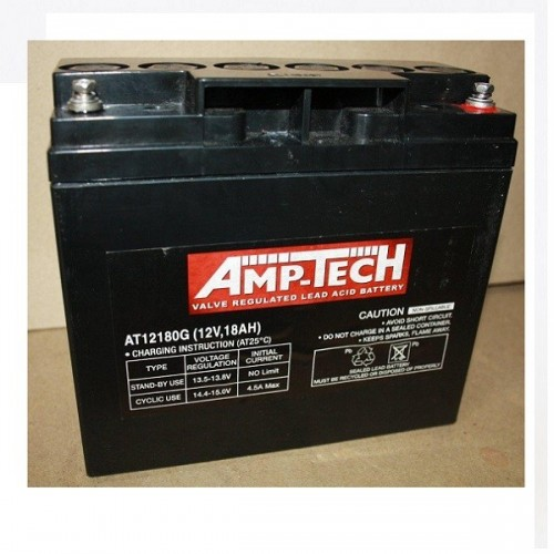 12V 18 Amp Hour Sealed Lead Acid Battery (SLA)