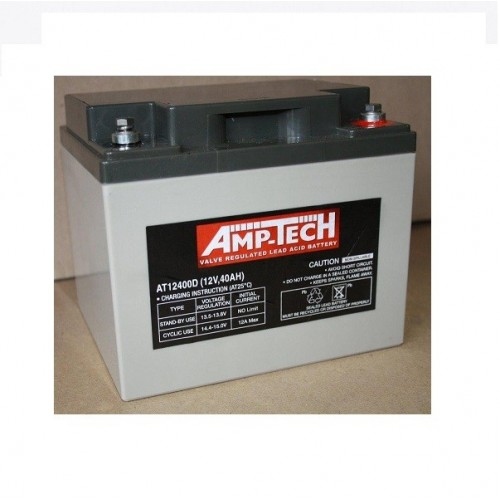 12V 40 Amp Hour Sealed Lead Acid Battery (SLA)