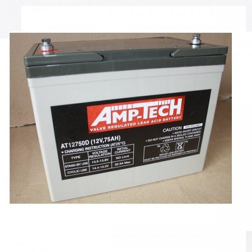 12V 75 Amp Hour Sealed Lead Acid Battery (SLA)