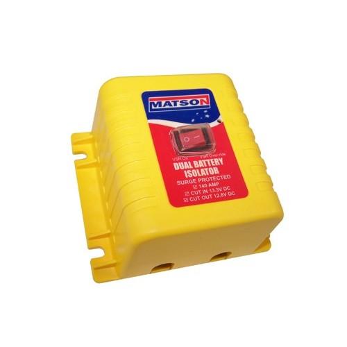 Matson 12V 140Amp VSR - Dual Battery Isolator - MA98404