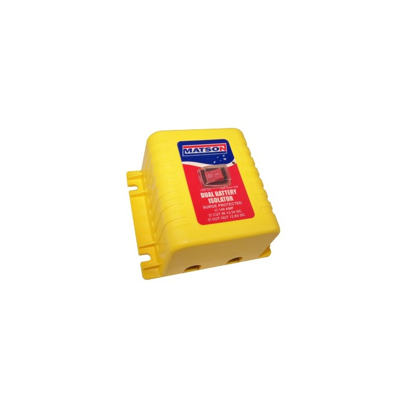 Matson 12V 140Amp VSR - Dual Battery Isolator - MA98404